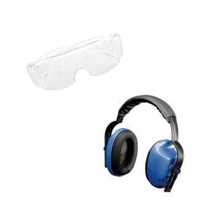 Protezione degli occhi e dell'udito