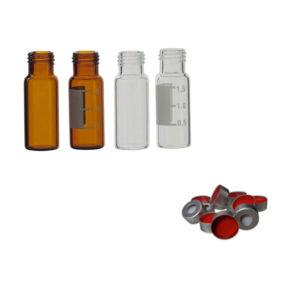Flaconi per cromatografia e accessori